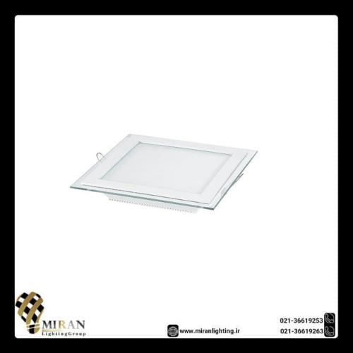 پنل SMD دور شیشه 24 وات مربع زاک
