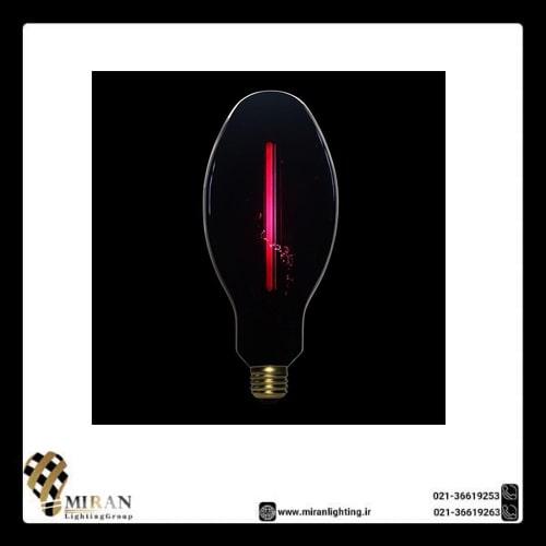 لامپ BLCT95 با حباب مشکی خطی ادیسونی