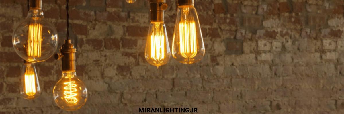 ریسه با لامپ های لامپ های فلامنتی